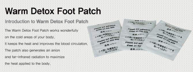 Warm Detox pads |Sap Sheet, Patches, Sheets | KMJ CO , LTD